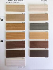 (12,90€/L)Rosner Wachsbeize Holzbeize Beize 1 L freie Farbwahl 1 x Versandkosten