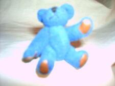 Blue Mini Bear - Handmade - Head-4 Legs Move - Vintage 1960s
