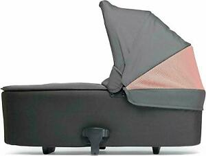 Mamas & Papas Flip XT² Athleisure Carrycot for Pushchair - Grey/Coral - XT2 NEW