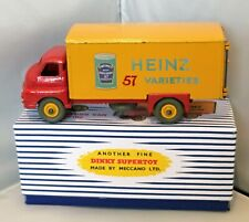 DINKY TOYS MODEL No.923 -'HEINZ BEANS' BIG BEDFORD VAN IN NEW REPRO BOX.