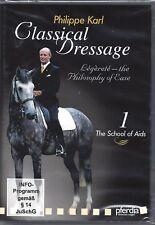 HORSE DVD D132 CLASSICAL DRESSAGE PHILLIPE KARL VOL1