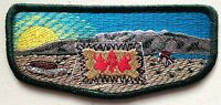TANNU OA LODGE 346 SCOUT NEVADA AREA COUNCIL PATCH FLAP ORDEAL FLAP TOUGH ISSUE