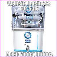 WATER PURIFIER Website Earn $34.41 A SALE|FREE Domain|FREE Hosting|FREE Traffic