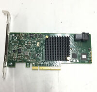 LSI MegaRaid SAS 9341-4i 12Gb/s HBA IT Mode PCIe 3.0 Controller Card w/ Cable