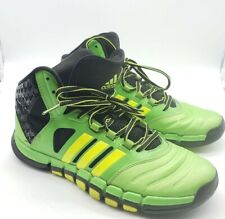 Adidas Men's Sz 9 Green Adipure Crazy Ghost Sprint Web Basketball Shoes $164