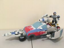 Teen Titans Cyborg T-Cycle and Turbo Mobile w/ accessories DC Comics 2003 Bandai