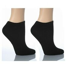 Mens Womens Trainer Liner Ankle Socks Cotton Sport Black White 1 3 6 12 Pairs