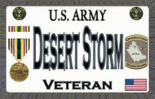 U.S.Army - Desert Storm - Magnetic Car Sign - 6in X 3.75in