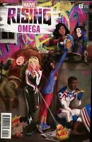 Marvel Rising Omega #1 Cover B Variant Helen Chen Cover
