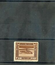 ITALIAN SOMALILAND Sc 138(MI 171A)**F-VF NH 1932 5c DEEP BROWN, PERF 12, $50