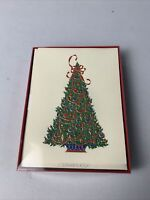 10 Pck Vintage Crane & Co. Happy Holiday Christmas Greeting Cards