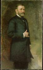 "Ulysses S. Grant Portrait by Thomas Le Clear (1875-85) -17""x22"" Art Print -00137"