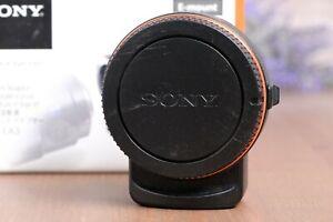 Sony LA-EA3 A-mount to E-mount FE Lens Adapter with Box