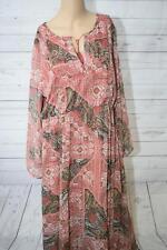 s.Oliver Damen Kleid mit Alloverprint, Gr. 44