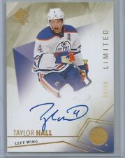 2015-16 SP Authentic Limited Autographs #30 Taylor Hall Edmonton Oilers #d 59/99