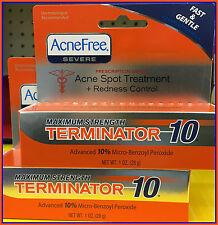 AcneFree Acne Blackhead Terminator 10 Benzoyl Peroxide US IMPORT