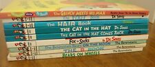 Lot of 9 DR. SEUSS CHILDREN'S BOOKS - Hardcovers