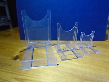Adjustable acrylic plastic display stand, plate, dish, tablet/ipad, photo, phone
