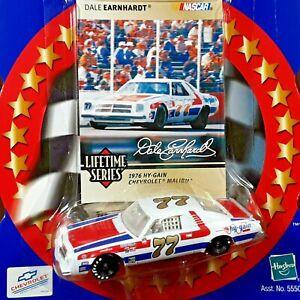 Dale Earnhardt #77 hy-gain 1976 Chevy Malibu NASCAR Winners Circle 1:64 Diecast