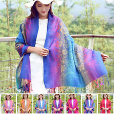 Unbranded Tassels Shawls/Wraps Scarves and Wraps for Women