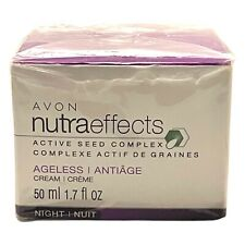 Avon NUTRAEFFECTS Active Seed Complex AGELESS Day Cream 1.7 fl oz - NEW-RETIRED!
