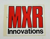 Vintage Original MXR Innovations Music Industry Mixing Sticker
