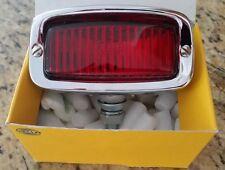 NOS HELLA HOODED BRAKE LIGHT PORSCHE 356 VW BUG OVAL SPLIT BUS BMW R 50 80 COX