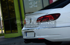 Boot spoiler for Passat CC Rear Trunk Lip wing Tailgate Trim door Back Cover r36