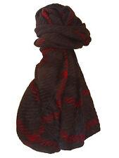 ECHARPE scarf (très longue) - Angora ultra douce - Gris / Bordeaux