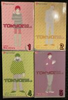 Tokyo Boys And Girls 1, 2, 4, 5 Manga Graphic Novel Viz Romance OOP