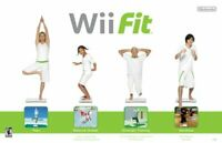 Nintendo Wii Fit Exercise Fitness Workout Cardio Yoga Balance Manual, Game Only