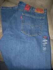 NWT** MEN'S 42 x 30 DARK LEVI'S 505** REGULAR FIT JEANS*FREE SHIPPING**