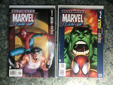 Ultimate Marvel Team-Up 1 & 2 - 2 Books - High Grade Comic Book - B13-47