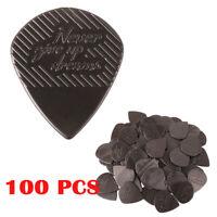 100Pcs JOYO Non-slip Picks Antiskid Plectrums for Acoustic Electric Guitar Bass