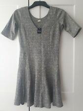 Bnwt Hollister Skater Grey Dress Size Medium