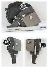 Vintage ELMO 8ee Movie Camera. Great condition. *KIT* filters & film splicer