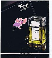 """PUBLICITE ADVERTISING 104 1978 """"Tamango"""" de LEONARD parfum"""