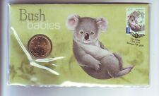 2011 Bush Babies Koala $1 Coin Stamp Set PNC FDC