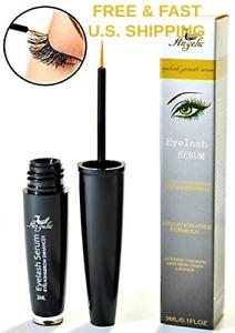 GENTLE Natural Eyelash Growth Serum Eyebrow Growth Serum Thicker LONGER LASHES