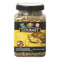 LM Zoo Med Gourmet Box Turtle Food 8.25 oz