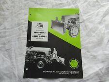 Shawnee bulldozer angle dozer brochure