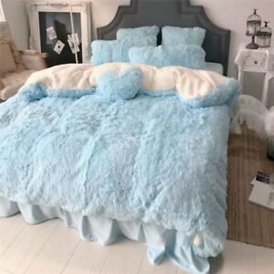 Winter Queen Bedding Set Twin Full King Warm Bed Home Duvet Bedding Kit