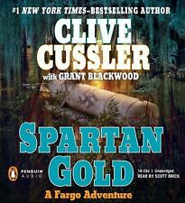 A Fargo Adventure: Spartan Gold No. 1 by Grant Blackwood and Clive Cussler (2009