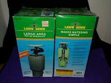"2-Lawn Genie Medium-Large Area 3"" Pop-Up sprinkler vintage new-old stock #571"