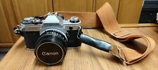 Canon AE-1 35mm Camera, Cannon 50mm, 24mm 1:2.8, Vivitar 70-150mm, 70-210 More!