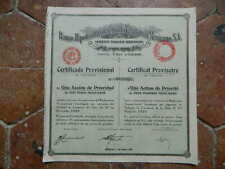 Action Obligation Banco Hipotecario de Crédito Territorial MEXICANO 1932