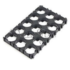 10X 18650 Battery 3x5 Cell  Spacer Radiating Shell EV Pack PlasticHolder Bracket