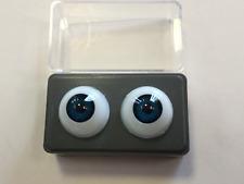 20mm Blue Green Glastic Realistic Acrylic Doll Eyes