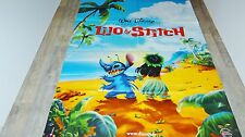 LILO ET STITCH ! affiche cinema  animation bd  disney
