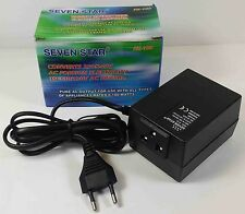 FOREIGN ELECTRICITY 240V TO 120V 100W TRAVEL CONVERTER STEPDOWN VOLTAGE